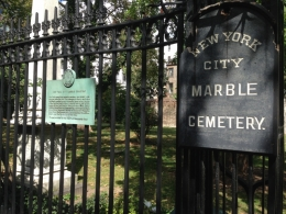 NYC Marble Cemetery