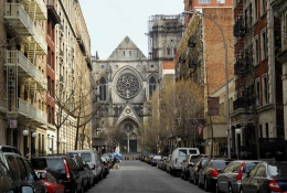 St. John the Divine Cathedral in Harlem