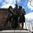 Washington and Lafayette Statue